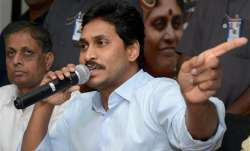 YSR Congress Party chief Y.S. Jagan Mohan Reddy