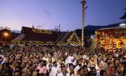 A view of Sabarimala