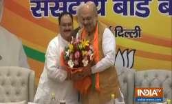 Breaking: JP Nadda appointed BJP's Working President