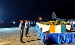 AN-32 crash: Mortal remains of 13 air-warriors reach