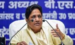 Opposition's visit to Kashmir will benefit BJP: Mayawati