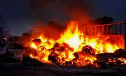 Vehicles torched in Odisha MLA's official residence