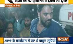 Babul Supriyo meted with shocking treatment at Jadavpur