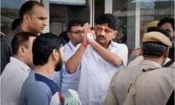 Karnataka Congress MLA DK Shivakumar