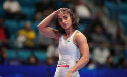 File image of Vinesh Phogat