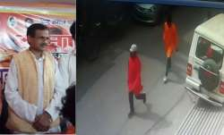 Kamlesh Tiwari was attacked by saffron-clad men on Friday.