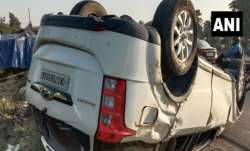 BJP MP Tirath Singh Rawat injured in car accident near Haridwar