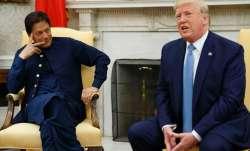 Imran Khan talks with Donald Trump