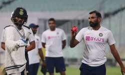 Day-Night Test: Virat Kohli takes charge, faces Mohammed Shami during twilight