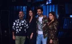 Kartik Aaryan, Bhumi Pednekar and Ananya Panday promote