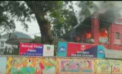 Fire breaks out in Kotwali police station, no injury