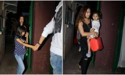 Bollywood celebrities arrived with their little one at