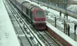 Rail service in Kashmir resume, mini buses on roads in