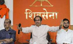 Sena protests against Mumbai Metro, builders on pollution
