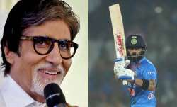 india vs west indies Amitabh Bachchan virat kohli