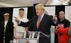 British Prime Minister Boris Johnson wins majority in