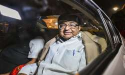 Happy to breath air of freedom: Chidambaram