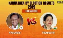 Karnataka Legislative Assembly by-election 2019 Hosakote results counting of votes