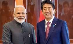 PM Modi, Shinzo Abe/File Image