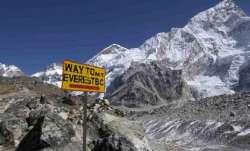 Mount Everest climbers