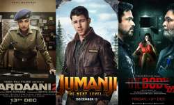 Latest News Rani Mukerji's Mardaani 2, Nick Jonas' Jumanji The Next Level, Emraan Hashmi's The Body