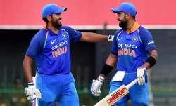 Rohit Sharma, Virat Kohli, india vs west indies