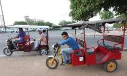 e rickshaws, Noida
