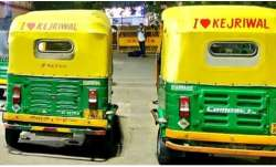 Auto driver fined Rs 10,000 challan for 'I love Kejriwal' message; Delhi govt, police issued notices