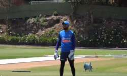 IND vs NZ   KL Rahul on duty: New Indian glovesman keeps to Navdeep Saini and Jasprit Bumrah in nets