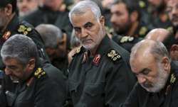 A file photo of slain Iranian commander Qasem Soleimani