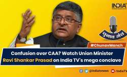 Including Ahmadiyyas would trigger reaction: Ravi Shankar Prasad on CAA