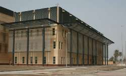 The US Embassy compound in Baghdad (WikiCommons)