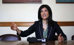 Indian-origin American politician Sara Gideon