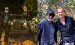 Bear Grylls shares superstar Rajinikanth's TV debut first look