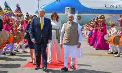 Trump, Namaste Trump, Trump India visit, Trump in India, Trump India visit day 2 itinerary, Modi