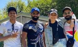 India vs New Zealand: Anushka Sharma joins husband Virat Kohli on a long walk by Blue Springs