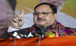 Nadda to party cadre: 'Be ready for all versus the BJP'