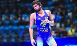 ravi dahiya, ravi dahiya asian wrestling championships, ravi dahiya gold medal, ravi dahiya gold