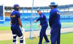 Sri Lanka head coach Mickey Arthur