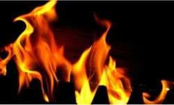 Fire breaks out at shoe factory in Delhi's Keshavpuram