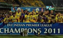Chennai Super Kings won their second IPL title in 2011