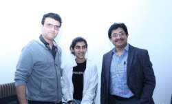 Sourav Ganguly and his brother Snehashish
