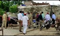 Kanpur: UP SIT probing police's 'connivance' with Vikas Dubey visits Bikru village