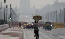 Delhiites wake up to pleasant, rainy morning. IMD forecasts thunderstorms through the day. Details
