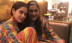 Sara Ali Khan strikes style symmetry with mom Amrita Singh