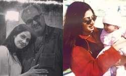 Remembering Sridevi through throwback photos with Janhvi, Boney Kapoor on 57th birth anniversary