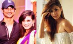Sushant's sister to Rhea: You have guts to come on National Media and tarnish my brother's image