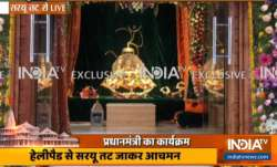 First pictures of 'Ram Lalla' at Ram Janmabhoomi