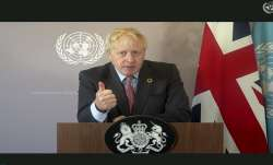 British PM Boris Johnson hails India's vaccine efforts in his UNGA address