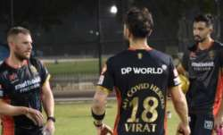 RCB captain 'My COVID Heroes' jersey